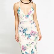 StylEase - Flower Print Maxi Dress
