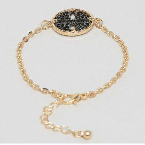 StylEase - Gold & Black Vintage Bracelet