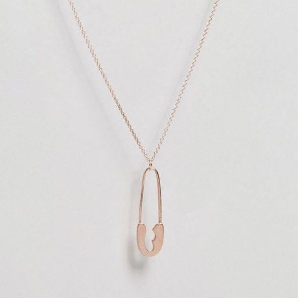 StylEase - Safety Pin Necklace