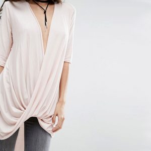 StylEase - Boohoo Draped Top