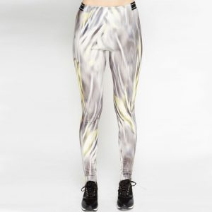 StylEase- Grey Mixed Elasticated Leggings