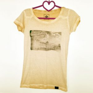 "Lee Cooper T-Shirt ""There is a bridge between Beauty & Greatness – I cross it Daily"""