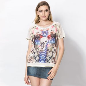 StylEase - Skull Butterfly Top